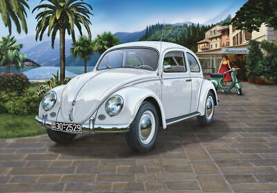 1/16 VW Kafer (Volkswagen Beetle/Type 1) 1951/52 w/Electronic Components & LED