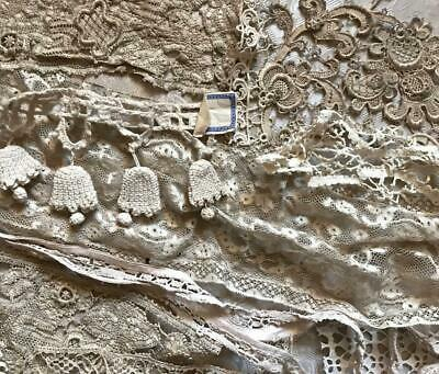 22 Beautiful Pieces And Fragments Of Antique Vintage Lace, Projects, Ref, 126.