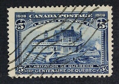 CKStamps: Canada Stamps Collection Scott#99 Used Lightly Crease CV$70