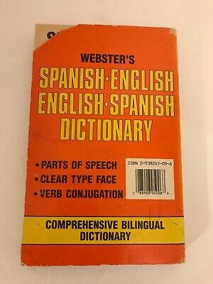 New Webster's Spanish-English, English-Spanish Dictionary by n/a