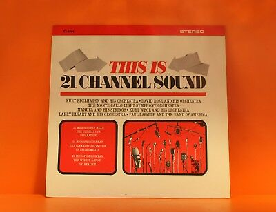 This Is 21 Channel Sound - Various (David Rose, Larry Elgart +) Ex Vinyl Lp