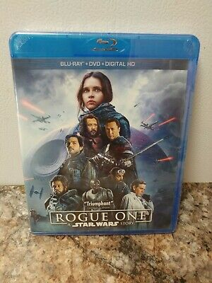 Rogue One: A Star Wars Story (Blu Ray + Dvd + Digital) FACTORY SEALED