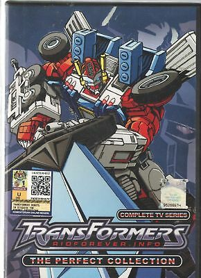 DVD Transformers Ridforever.Info The Perfect Collection Episode 1-39 End [last]