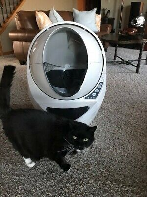 Litter-Robot 3 Open Air Automatic Self Cleaning Litter Box (Cat not included)