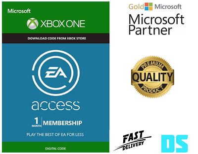 Ea Access 1 Month Membership - Xbox One - Digital Code - Fast Dispatch