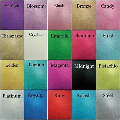 Kaisercraft Scrapbook Glitter Cardstock 12x12 - 20 Colours - 300gsm Ninis Things