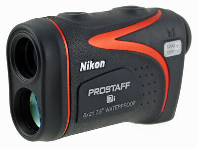 Nikon Prostaff 7I 6X21 Waterproof Black Laser Rangerfinder #16209 *new In Box*