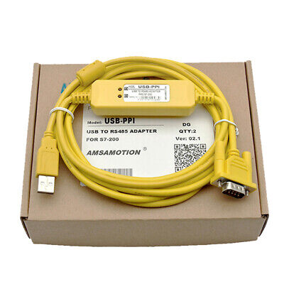 NEW USB-PPI PLC Programming Cable For Siemens S7-200 Series PLC