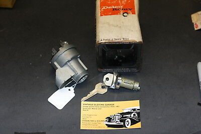 1961,1962,1963, Chevrolet Ignition Switch Genuine Delco Remy