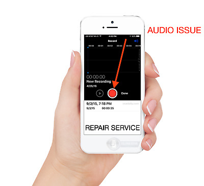 iPhone 7/ iPhone 7 Plus Audio IC No Mic/Speaker, Slow Boot Repair Service Repair
