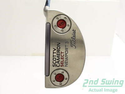 Titleist Scotty Cameron Select Newport 3 Putter Steel Right 34 in