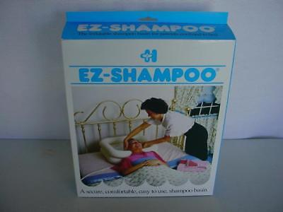 MEDLINE EZ SHAMPOO INFLATABLE BASIN DISABLED BED RIDDEN WASHING HAIR *NEW in BOX