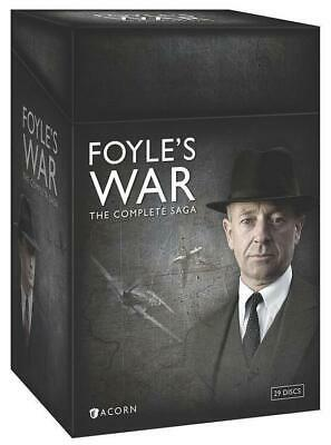 FOYLE'S WAR: THE COMPLETE SAGA (DVD, 2015, 29-Disc Set) BRAND NEW SEALED