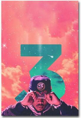Chance The Rapper Hot Music Rap Art Poster No Frame