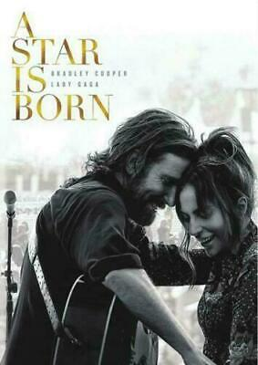 A STAR IS BORN (DVD,2018) With Bonus Disc