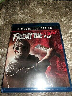 Friday the 13th 8-Movie Collection (Blu-Ray) No Slipcover
