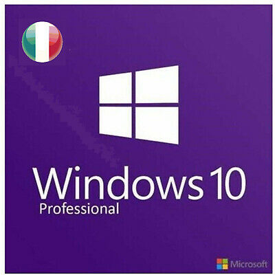 Windows 10 PRO 32/64 bit Key RETAIL licenza originale. Sped Immediata
