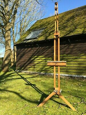 Large Antique Artist's Easel, Solid Wooden Construction
