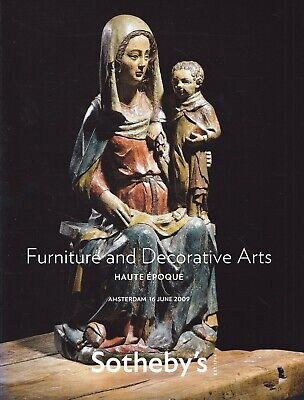 HAUTE EPOQUE: FURNITURE / INTERIEUR: Sotheby's Ams. 09 +results