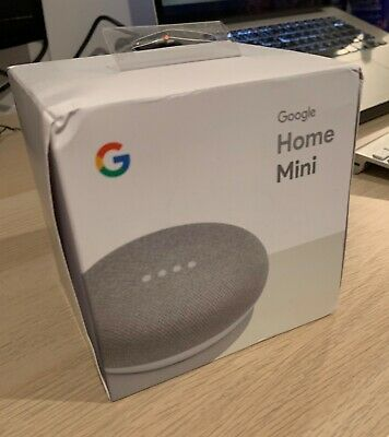 Google Home Mini Smart Assistant - Chalk (Brand New, Unopened)