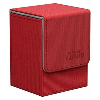 Ultimate Guard Flipdeck Case Xenoskin 80+ Rot