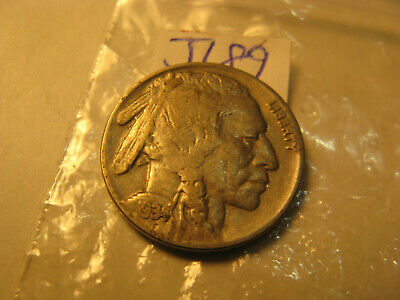 1934 USA Buffalo Nickel Rare Coin ID#J189