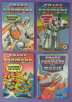 Collection of Transformers Ladybird First Edition Books