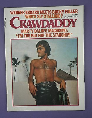 CRAWDADDY - Jan 1977 - MARTY BALIN, JAMAICA, BUCKMINISTER FULLER