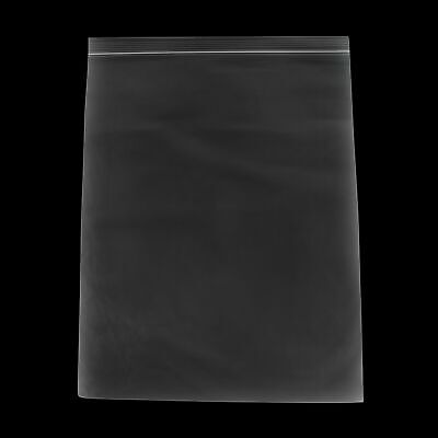 """Clear Reclosable Poly Bags 12"""" x 15"""" Top Seal 2 Mil 1000 Pieces Per Box"""