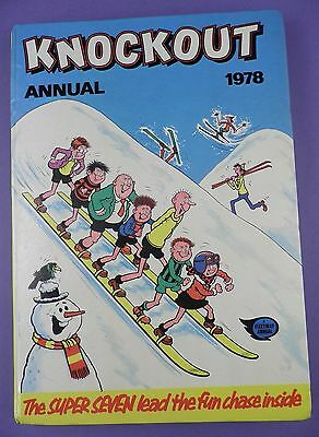 Knockout Annual 1978 - Original Hardback Annual in Very Good Condition