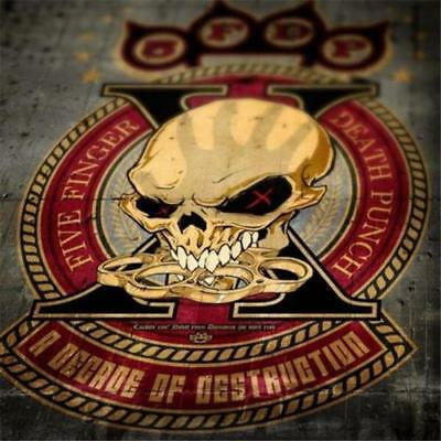 FIVE FINGER DEATH PUNCH A Decade Of Destruction CD BRAND NEW Compilation