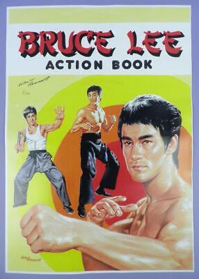 Bruce Lee A3 Size Print Hand Signed By Walt Howarth (Limited Edition of 10)