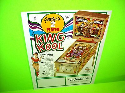 Kit  JACK IN THE BOX JUMPING JACK  Gottlieb 1973 elastiques flipper