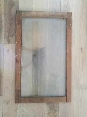 Vintage Wood Frame Heavy Glass Window House Architectural Salvage. PICk UP ONLY!