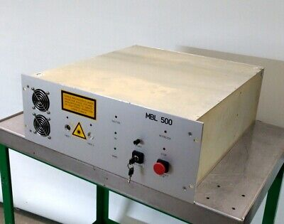 IB Laser AG/Berlin MBL-500-DA-40W Fiber Optic Laser 40W 1064nm 400mJ 110/230VAC