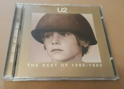U2 - The Best Of 1980 - 1990 (Cd Album) Excellent