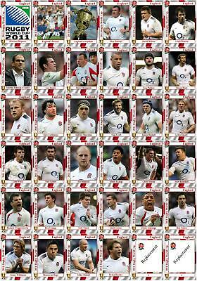 England Rugby Union World Cup squad 2011