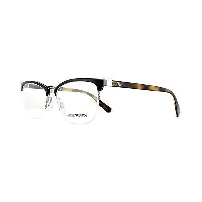 Emporio Armani Glasses Frames EA 1066 3010 Black 54mm Mens