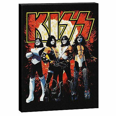 Official Band KISS Gene Simmons Image Large Canvas Sign Christmas Gift