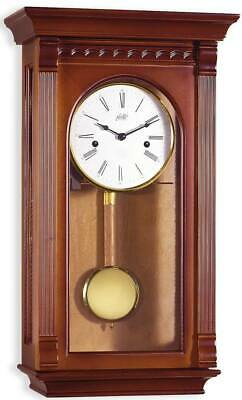 Gallo Atene - Wall Clock - Walnut - Pendulum Clock - Regulator Clock - New