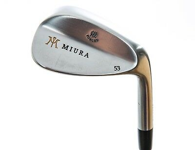 Mint Miura Wedge Series With Paintfill Wedge Gap GW 53° Steel KBS Right 35.5 in