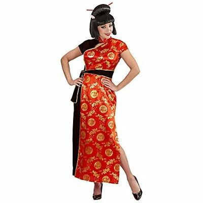 Fancy Dress Costume Womens Ladies China Girl Outfit L - Sue Lee New Carniva