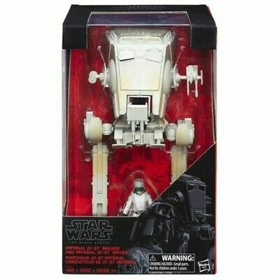 Star Wars The Black Series: Imperial AT-ST Walker & Driver Action Figures NEW A