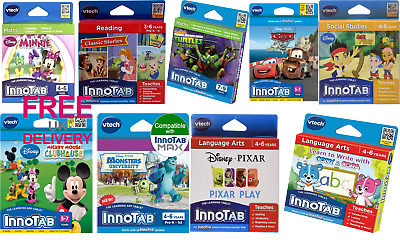 Kids Educational Toys VTech InnoTab Software Childrens Learning Games Adventures