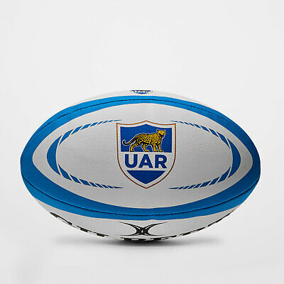 Gilbert Mens Argentina Official Replica Rugby Ball White