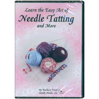 Handy Hands Learn The Easy Art Of Needle Tatting Dvd-