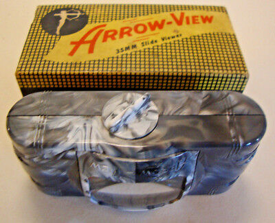Early 20th century boxed Arrow-View self illuminating battery viewer
