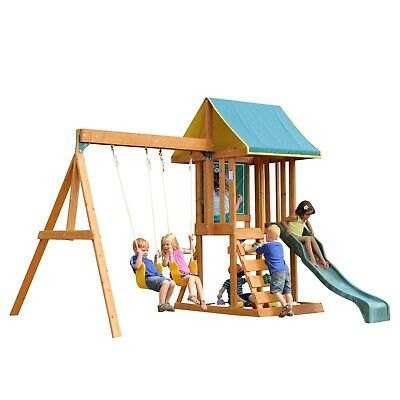 Cranbrook Outdoor Playset By Kidkraft 60900 Picclick