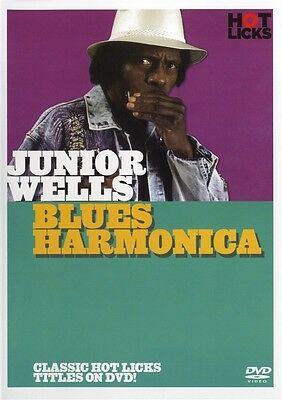 Junior Wells Blues Harmonica Hot Licks Dvd Hot517 Learn To Play  Tutorial - Harp