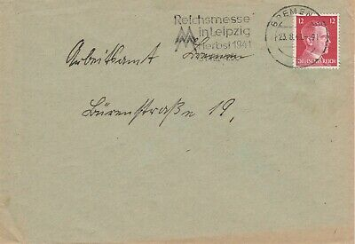 Deutsches Reich - Brief - Stempel: 1941 -